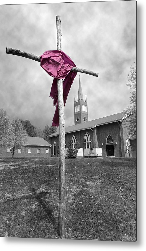 Easter Metal Print featuring the photograph Easter by Steve Parrott