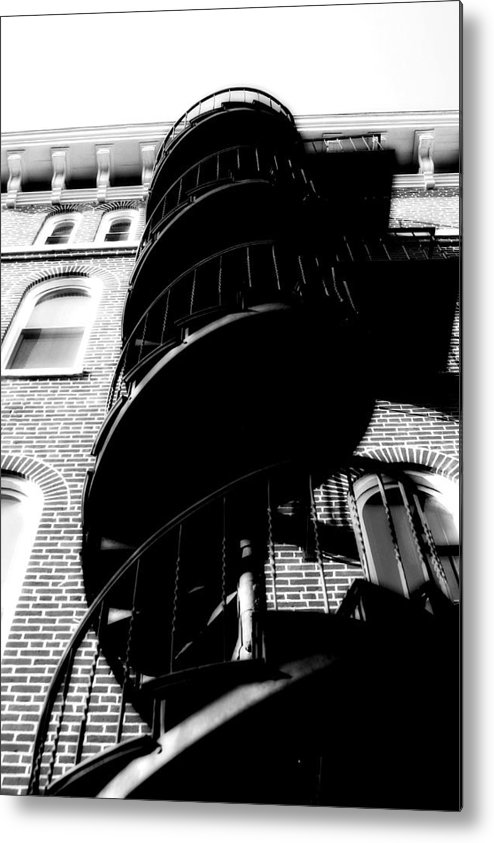 Fire Escape Metal Print featuring the photograph Escape by Carl Perry