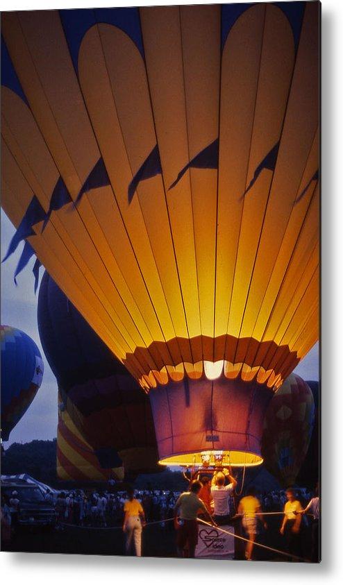 Hot Air Balloon Metal Print featuring the photograph Hot Air Balloon - 10 by Randy Muir
