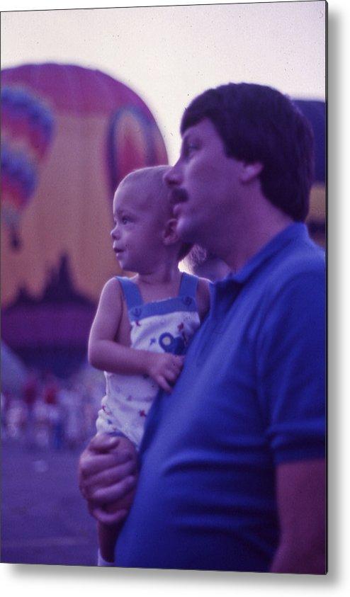 Hot Air Balloon Metal Print featuring the photograph Hot Air Balloon - 6 by Randy Muir