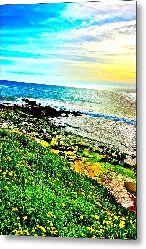 Laguna Beach Metal Print featuring the photograph Laguna Beach by Jeremy Stewart