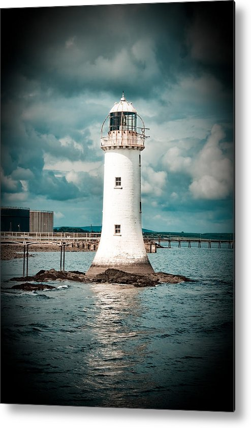 Lighthouse Metal Print featuring the photograph Lighthouse by Gabriela Insuratelu