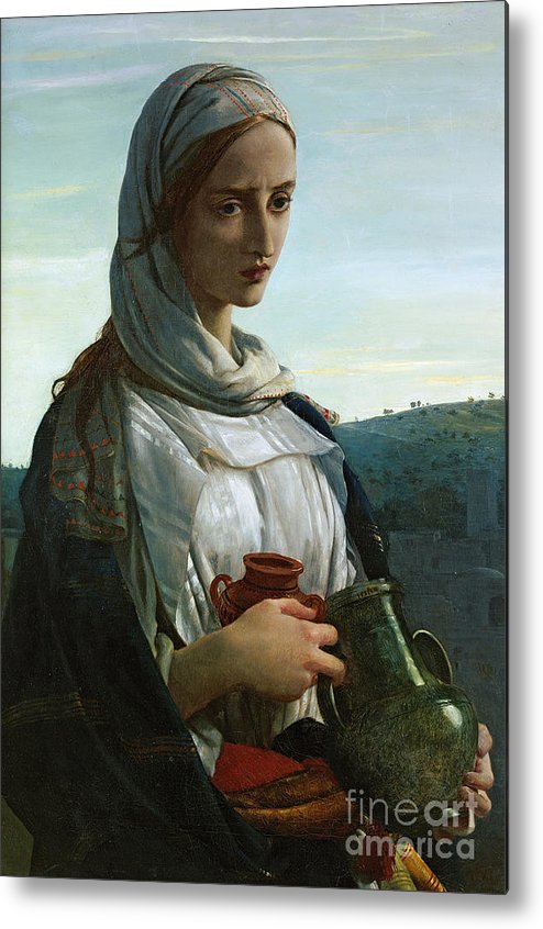 Mary Madgalen Metal Print featuring the painting Mary Madgalen by JR Herbert