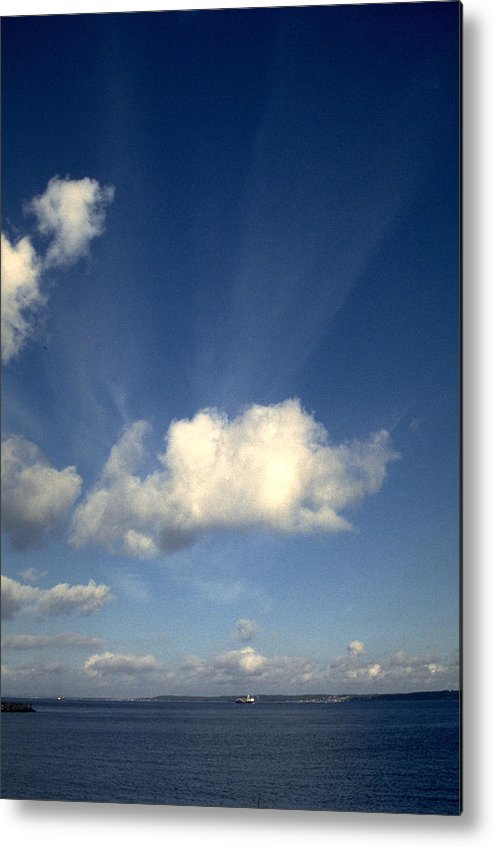 Northern Sky Metal Print featuring the photograph Northern Sky by Flavia Westerwelle