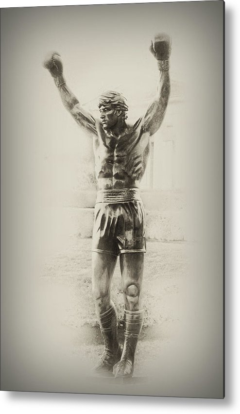 Rocky Balboa Metal Print featuring the photograph Rocky by Bill Cannon