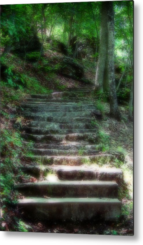 Stairs Metal Print featuring the photograph Second Ethereality by Carl Perry