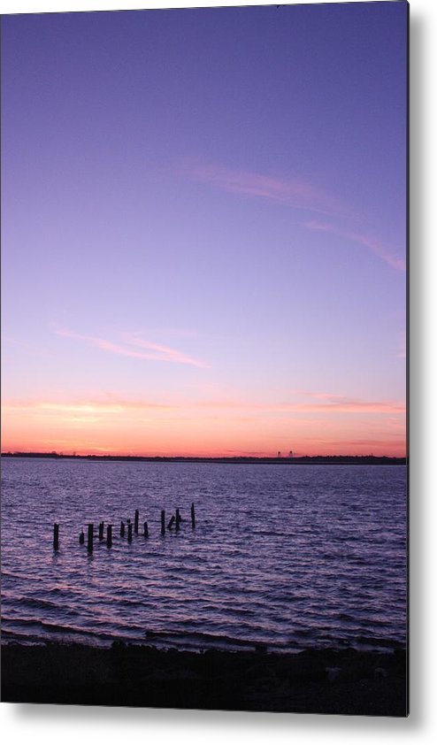Sunset Metal Print featuring the photograph Sunset Series No. 4 by Christina Martinez