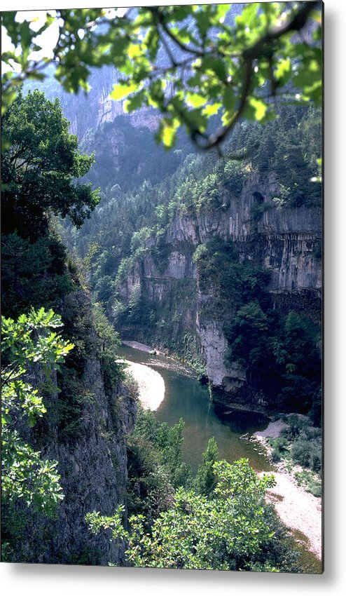France Metal Print featuring the photograph Tarn by Flavia Westerwelle
