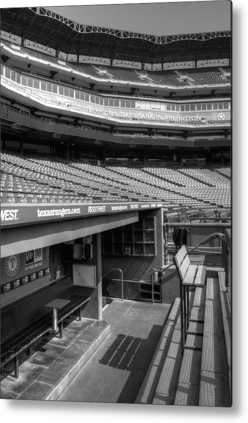America Metal Print featuring the photograph The Ballpark In Arlington by Ricky Barnard
