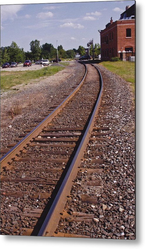 Train Metal Print featuring the photograph The Edge by Xn Tyler