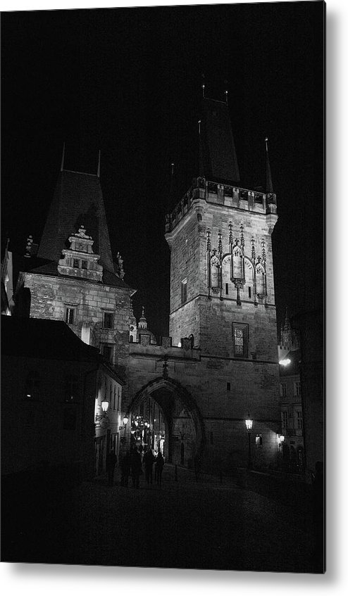 He Lesser Town Metal Print featuring the photograph The Lesser Town Prague by Paul Pobiak