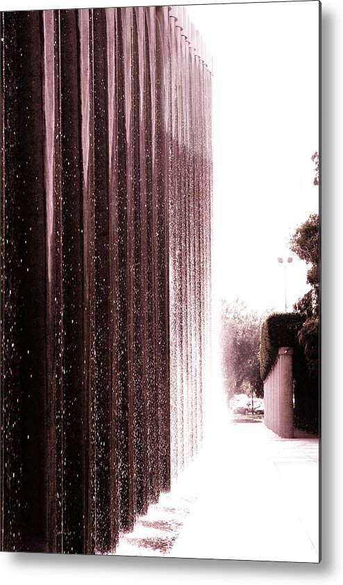 Water Light Metal Print featuring the photograph The Light by Gracey Tran