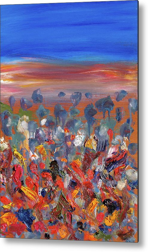 Australia Metal Print featuring the painting This Country Of Mine by Stefan Maguran