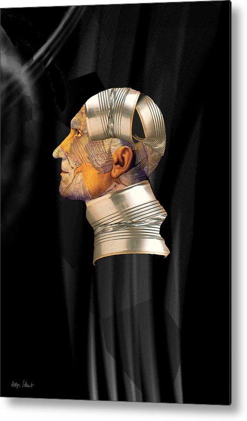 Fantasy Metal Print featuring the digital art Tinman by Helga Schmitt
