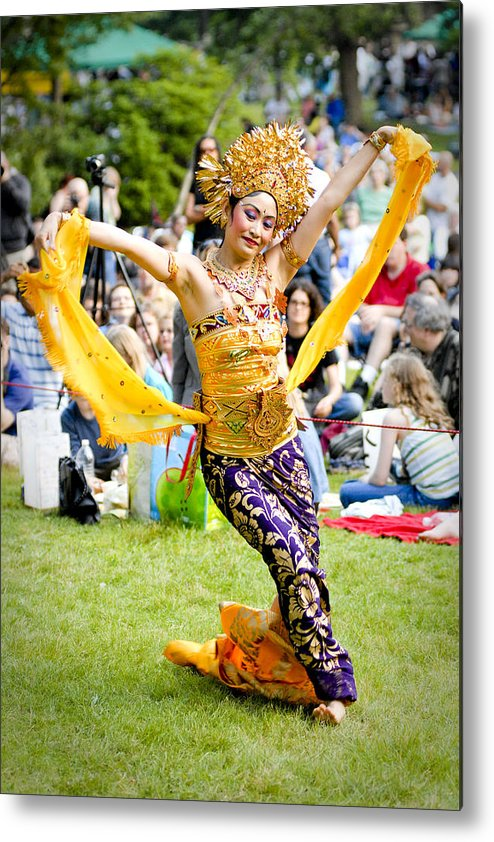 Dance Metal Print featuring the photograph Tiny Dancer by Greg Fortier