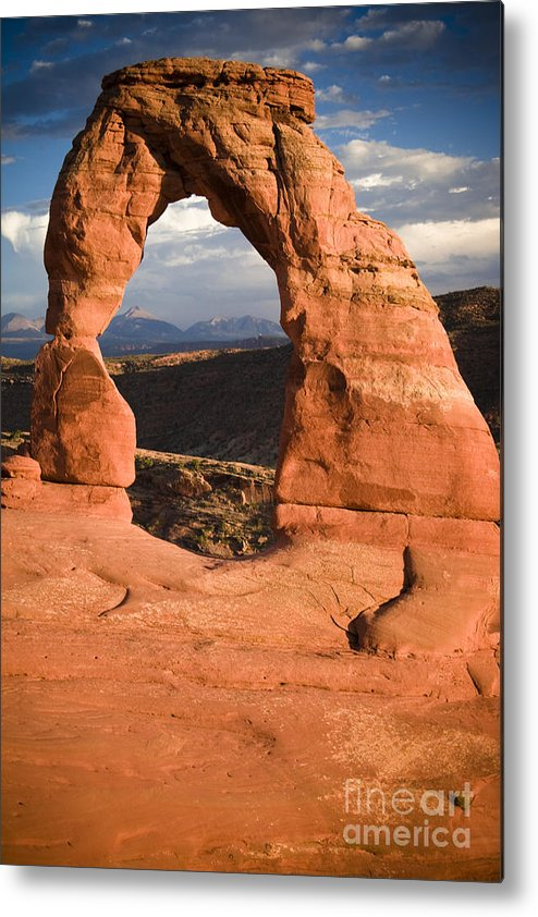 Utah Metal Print featuring the photograph Way Of Delicate Arch by Joshua Francia