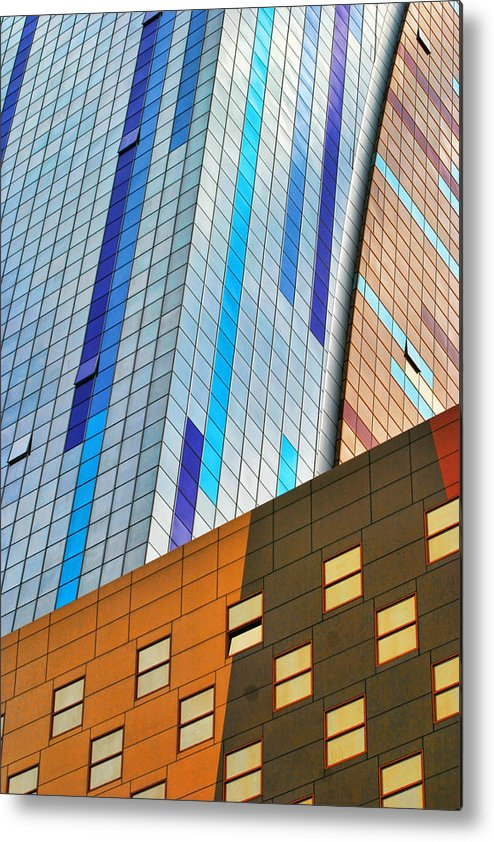 Architecture Metal Print featuring the photograph Weston Hotel Nyc by Chuck Kuhn