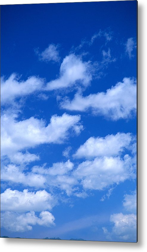 Air Metal Print featuring the photograph White Clouds by Kyle Rothenborg - Printscapes