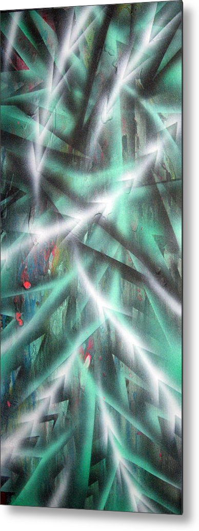 Forest Metal Print featuring the painting Alien Forest by Leigh Odom