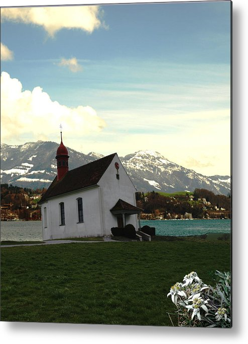 Spring Metal Print featuring the photograph Swiss Hope by Chuck Shafer