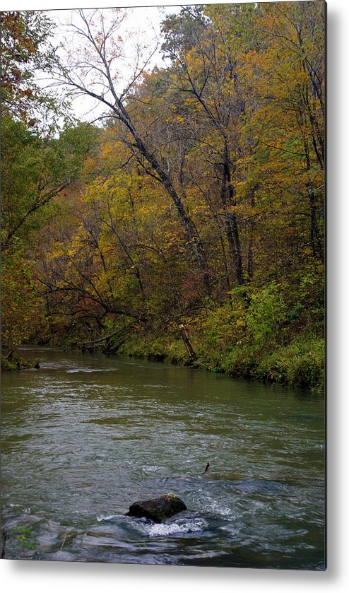 Current River Metal Print featuring the photograph Current River 8 by Marty Koch
