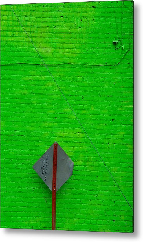 Montreal Metal Print featuring the photograph Brick Mortar And Lime by Art Ferrier
