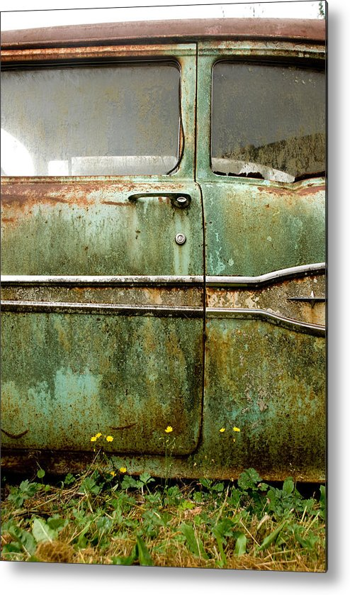 Cars Metal Print featuring the photograph Circle Of Life by Jennifer Owen