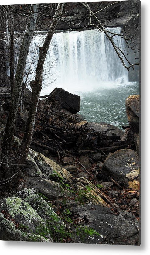 Cumberland Falls Metal Print featuring the photograph Cumberland Falls Ky One by Steven Crown