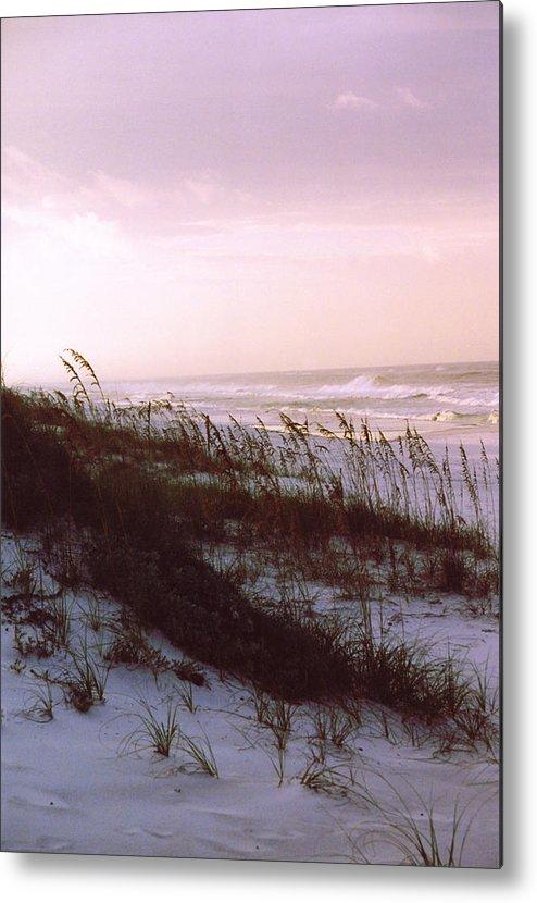 Ocean Metal Print featuring the photograph Dune Sunrise by Deborah Gallaway