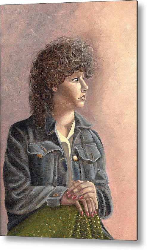Metal Print featuring the painting Grace by Toni Berry