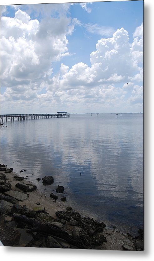 Still Life Metal Print featuring the photograph Long Walk by Michael L Gentile