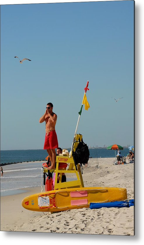 Summertime Fun Photos Metal Print featuring the photograph Sea Shore 29 by Joyce StJames