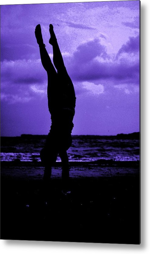 Sea Metal Print featuring the photograph Stand By Sea II by Trudi Southerland