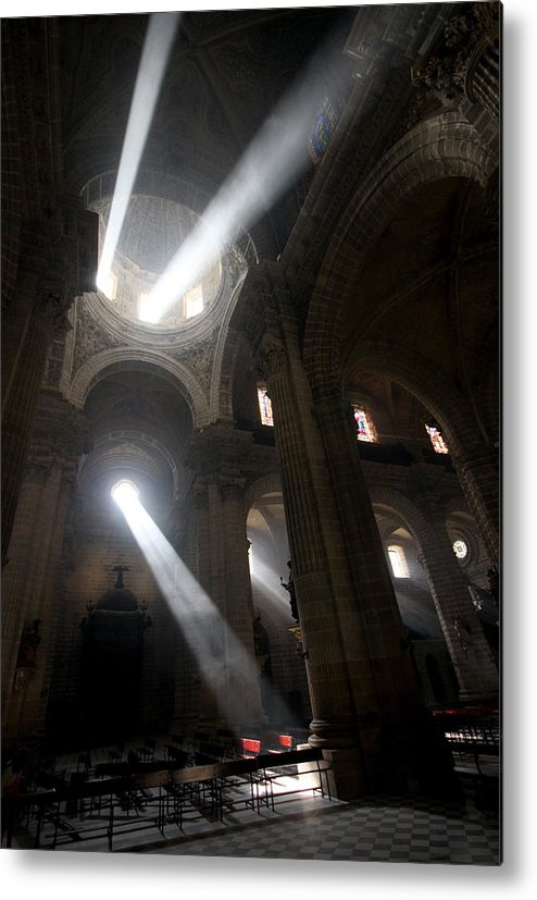 Church Metal Print featuring the photograph The Holy Hour by Jason Hochman