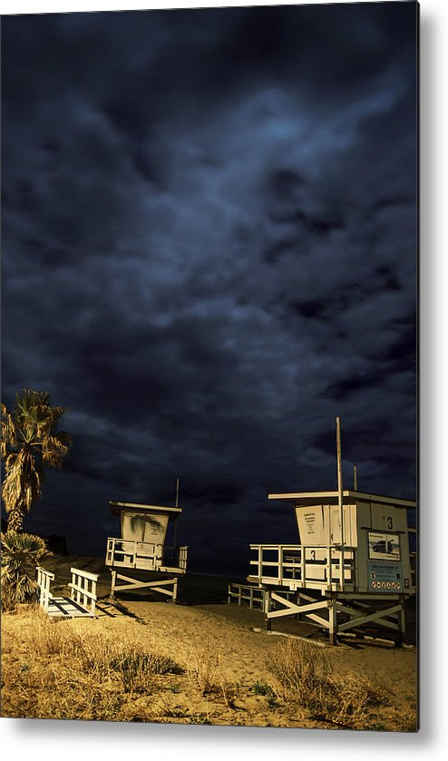 Metal Print featuring the photograph Towers by Robert Larson