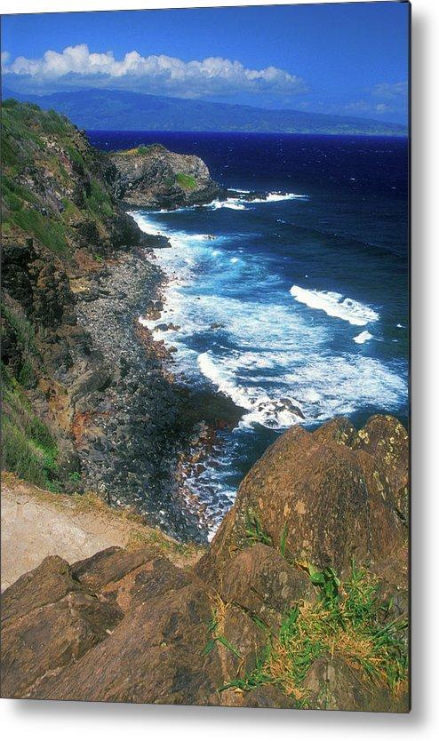 Hawaii Metal Print featuring the photograph West Maui Coast by John Burk