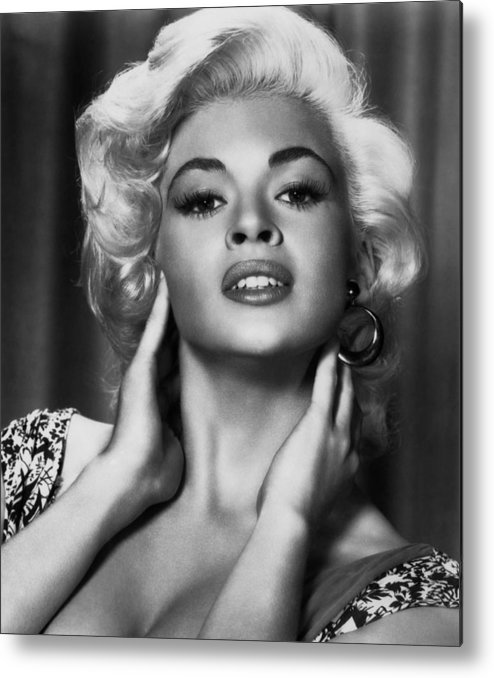 1950s Portraits Metal Print featuring the photograph Jayne Mansfield, Ca. 1950s by Everett