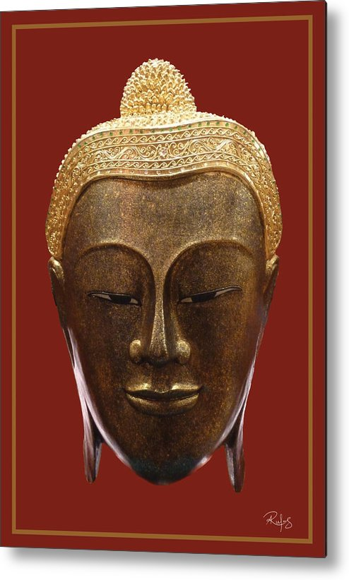 Buddha Metal Print featuring the photograph Buddha's Pleasure by Allan Rufus
