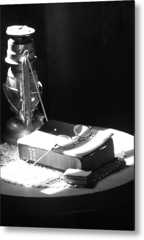 Elm Metal Print featuring the photograph Follow The Light by Empty Wall
