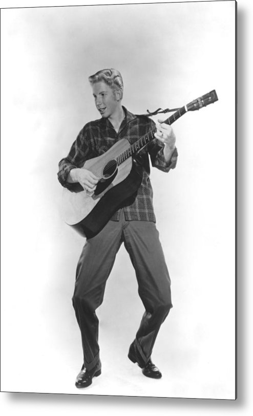 1950s Portraits Metal Print featuring the photograph Jimmy Boyd, Ca. 1958 by Everett