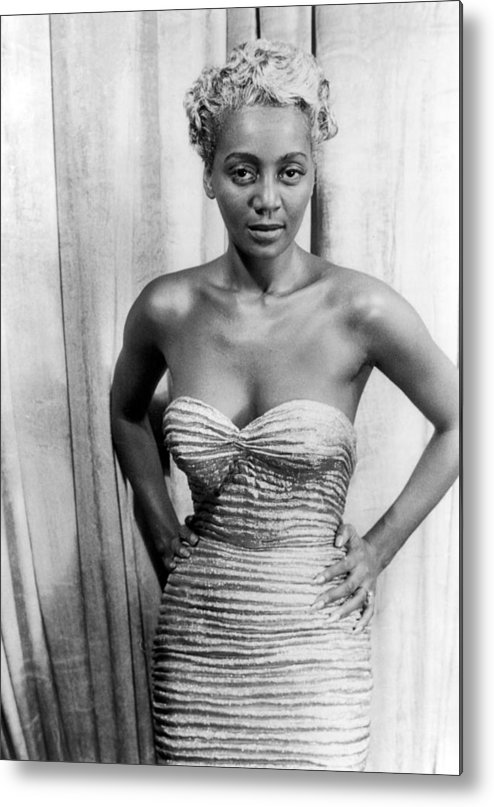 1953 Metal Print featuring the photograph Joyce Bryant, 1953 by Granger