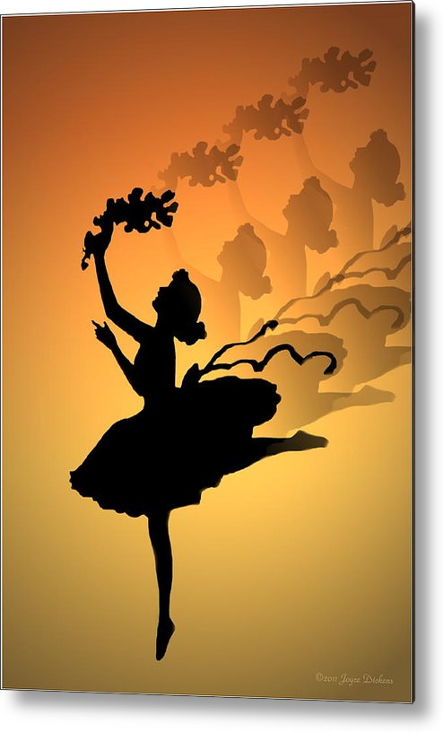Curtain Call Metal Print featuring the photograph Curtain Call by Joyce Dickens