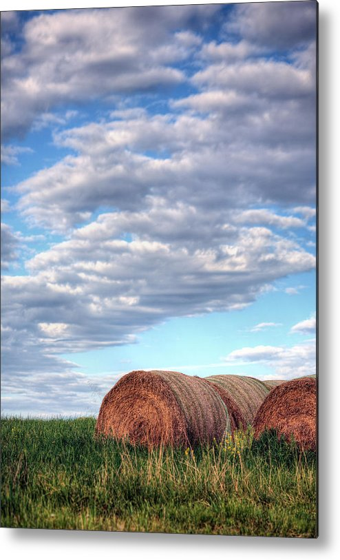 Hay Metal Print featuring the photograph Hay It's Art by JC Findley