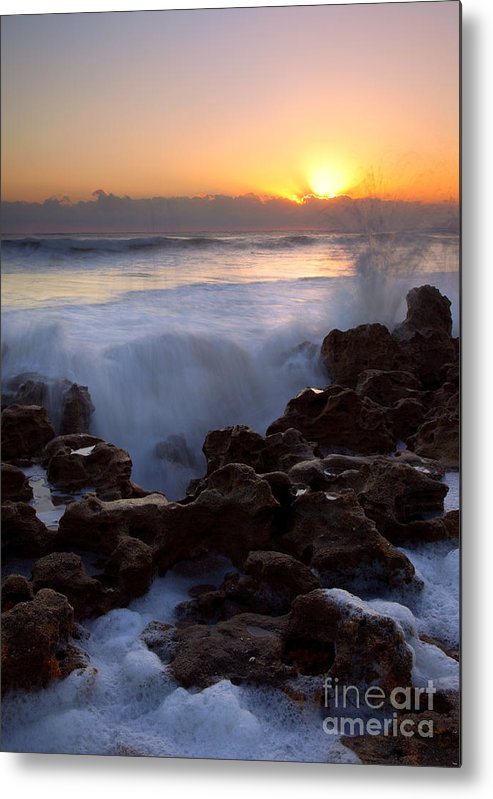 Coral Cove Metal Print featuring the photograph Breaking Dawn by Mike Dawson