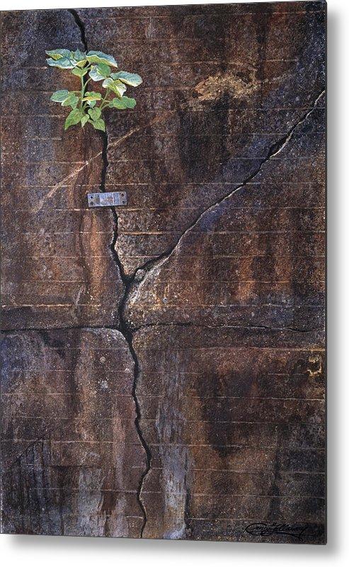 Birmingham Metal Print featuring the painting Birmingham by Craig Gallaway