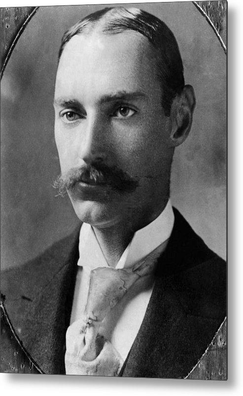 1910s Metal Print featuring the photograph John Jacob Astor Iv 1864-1912 by Everett