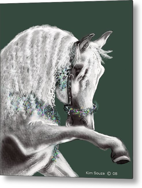 Arabian Metal Print featuring the painting Arabian by Kim Souza