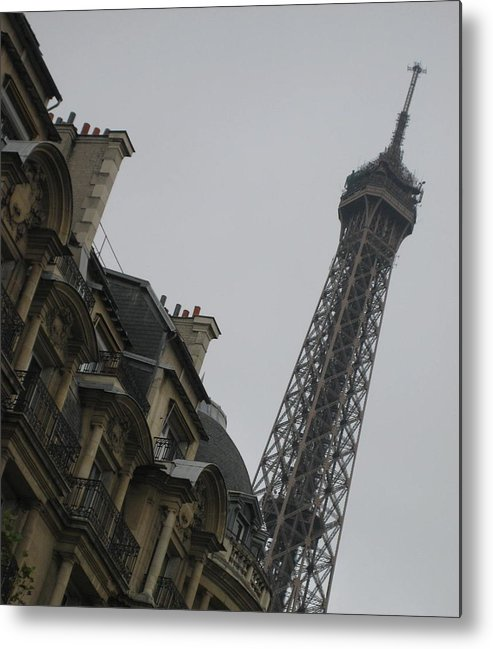 Eiffel Tower Metal Print featuring the photograph Eye Full by Victoria Heryet