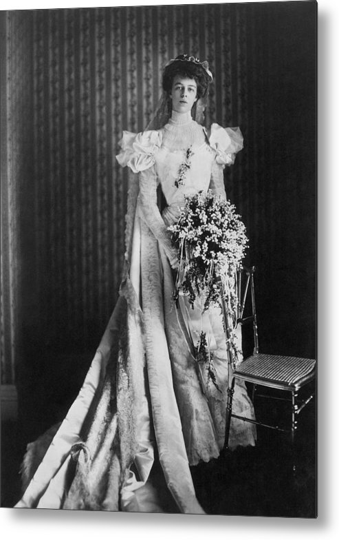 1905 Metal Print featuring the photograph Anna Eleanor Roosevelt by Granger