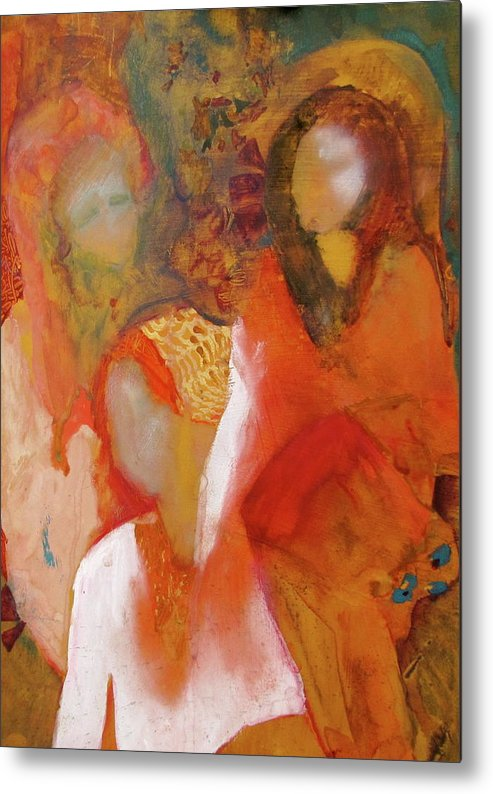 Women Metal Print featuring the painting Feminine Energy by Carole Johnson